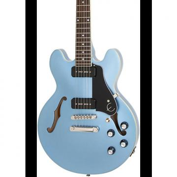 Custom Epiphone  ES-339 P90 PRO Semi-Hollowbody Electric Guitar  2017  Pelham Blue