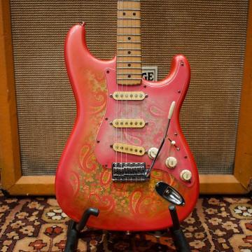 Custom Vintage 1987 Fender ST72-PEX 70s Reissue Pink Paisley Japan Stratocaster Guitar