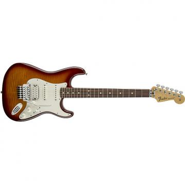 Custom Fender Standard Stratocaster® Plus Top with Floyd Rose® Tremolo, Rosewood Fingerboard, Tobacco Sunburst - Default title