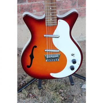 Custom Danelectro 12SDC 12 String Electric Guitar Made in Korea Cherry Sunburst Finish DC '59