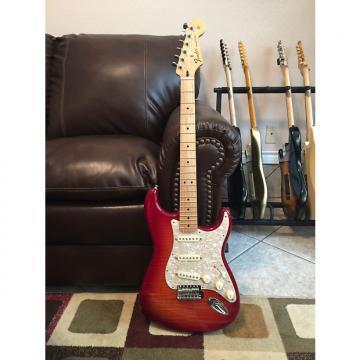 Custom Fender Stratocaster Plus Too Aged Cherry Burst