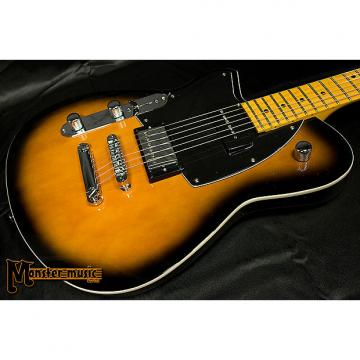 Custom Reverend Lefty Double Agent DAOG 2017 Coffee Burst