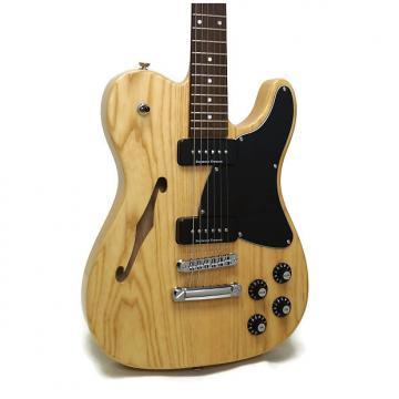 Custom Fender Jim Adkins JA-90 Telecaster Thinline Electric Guitar - Natural