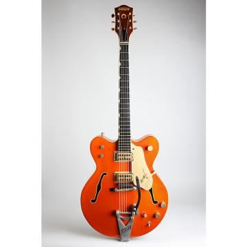 Custom Gretsch  Model 6120 Chet Atkins Hollowbody Thinline Hollow Body Electric Guitar (1964), ser. #73993, original grey hard shell case.