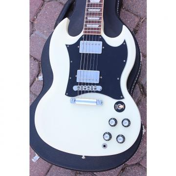 Custom 2011 Gibson USA SG Standard Electric Guitar - Cream White - Coil Taps - Gibson Original Hard Case