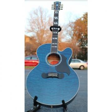 Custom Gibson J185 2002 Blue