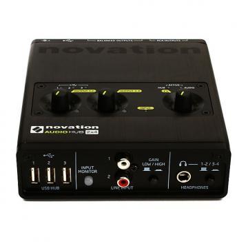 Custom Novation Audio Hub 2x4 Audio Interface and USB Hub