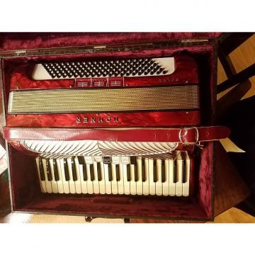 Custom Vintage Hohner Polka  Red 120 LMM