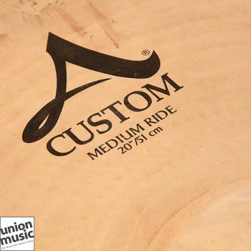 "Custom Zildjian A Custom 20"" Inch Medium Ride"