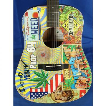 Custom Martin D-420 D420 Prop 64 Mahogany & Spruce Acoustic Guitar w/ OHSC Custom Grpahics