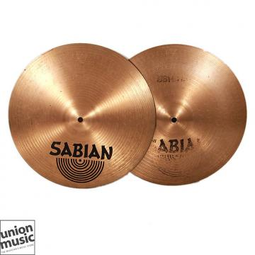 Custom Sabian B8 Hi Hats 14 inch Top & Bottom