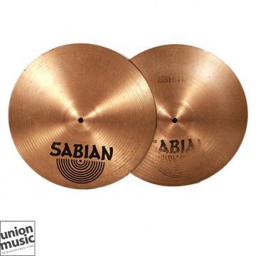 Custom Sabian B8 Hi Hats 14 inch Top & Bottom