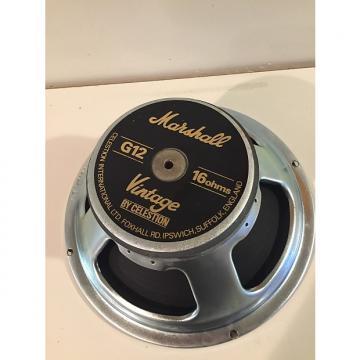 Custom Celestion Marshall Vintage 30 16ohm free ship Black / Silver