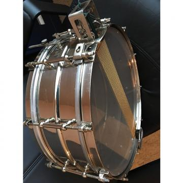 "Custom Ludwig 5x14"" Super Sensitive Brass Snare Drum w/ Parallel Snare System 1935 nickel brass"