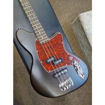 Custom Ibanez TMB100WNF Talman 4 String Bass Guitar 2017 Walnut Flat