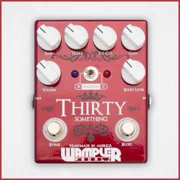 Custom Wampler Thirty Something V.1 Overdrive Distortion