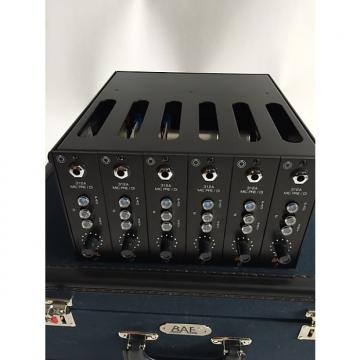 Custom BAE 312A 500 Series Modules (6) + Lunchbox 2015 Black / Beige