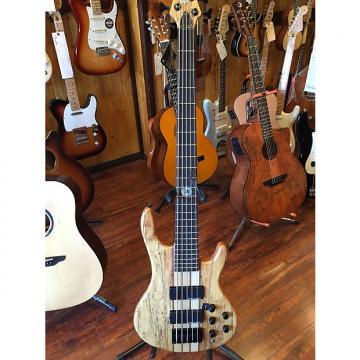 Custom 2017 Wolf Spalt5 Satin Spalt Maple 5 String Active/Passive Bass