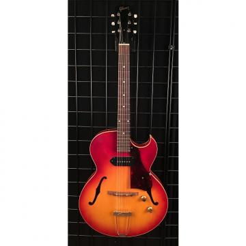 Custom Vintage 1961 Gibson ES-125TC Hollow Body Electric Guitar Cherry Sunburst Finish