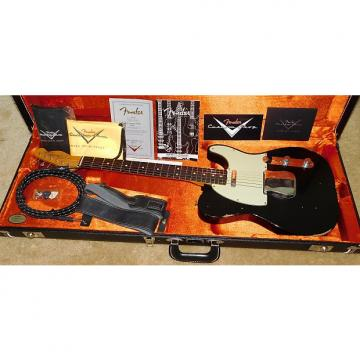 Custom Fender 1963 Telecaster Relic Electric Guitar*Custom Shop*2016*Aged Black