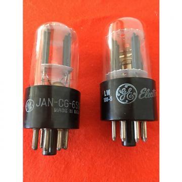 Custom GE 6SN7GTB pair of vacuum tubes