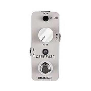Custom new Mooer Grey Faze vintage fuzz guitar effect pedal
