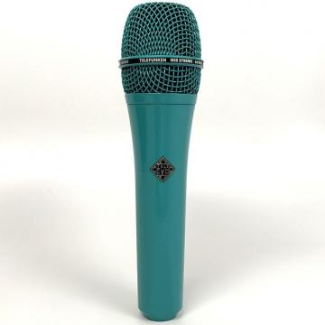 Custom Telefunken M80 Dynamic Microphone Super Cardioid Stage Recording Turquoise