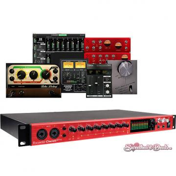 Custom Focusrite Clarett 8Pre 18x20 Thunderbolt Audio Interface