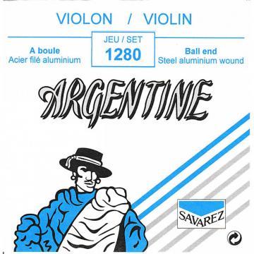 Custom Savarez 1280 Violin 4 Strings Ball End, Aluminum Wound Steel, Normal Tension