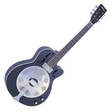 Custom Vintage VRC800BK Electro‑Acoustic Guitar, Black