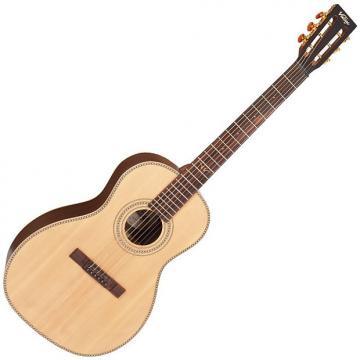 Custom Vintage VE8000PB Paul Brett Signature Guitar 6 String Acoustic With Case