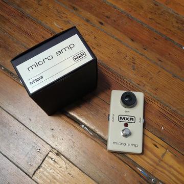 Custom MXR M133 Micro Amp w/Original Box