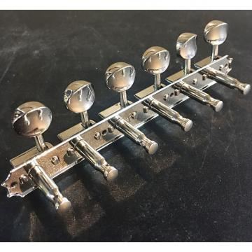 Custom Clearance | Kluson 6 On A Plate Guitar Tuning Machines