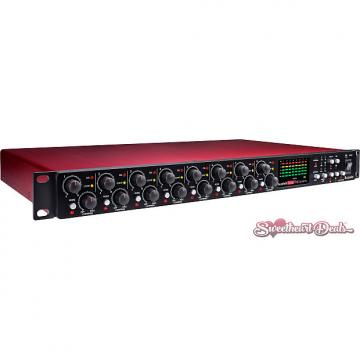 Custom Focusrite Scarlett OctoPre Dynamic - Eight Channel Preamp and Audio Interface