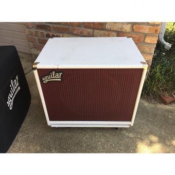 Custom Aguilar  DB115 Bass Speaker Cabinet - White