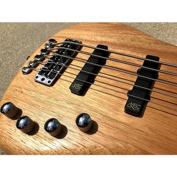 Custom 2009 Warwick Corvette 5-String RockBass Five Natural Satin Bass Guitar Active 2 band preamp