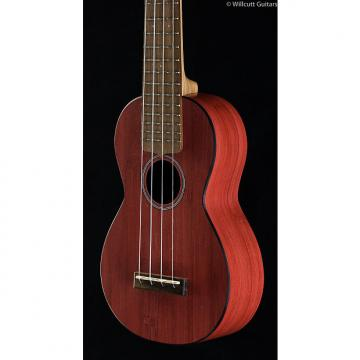 Custom Martin 0X Uke Bamboo Red Soprano (420)