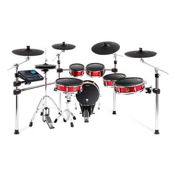 Custom Alesis Strike Pro Kit Electronic Drum Kit - 11‐piece Premium Mesh Drum Kit