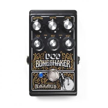 Custom DOD DOD Boneshaker Distortion NIB 2017 Black
