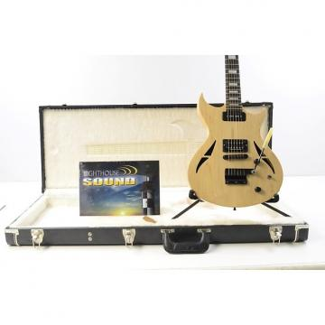Custom Gibson N-225 Nighthawk Electric Guitar - Natural Maple w/Hard Shell Case