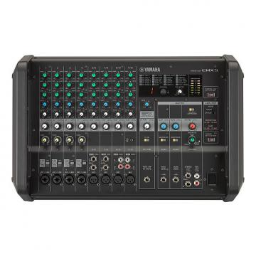 Custom Yamaha  EMX5 12-channel 1260W Powered Mixer 2017 Black