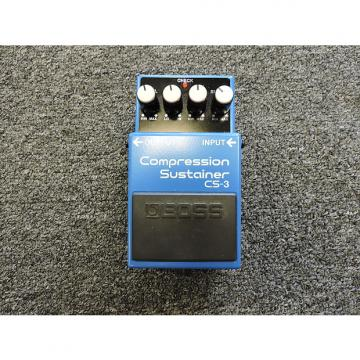 Custom Boss CS-3 Compression Sustainer Guitar Effects Pedal