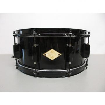 "Custom Battlefield Drum Company 6x14"" Steel Snare Black"