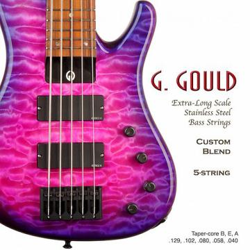 Custom G. Gould G. Gould Custom Gauge 5 String Bass Set
