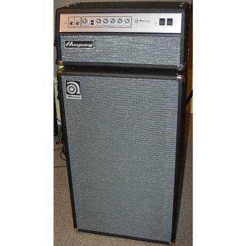 Custom Limited Edition Ampeg V4BAV and SVT610AV with Vintage Grill Cloth - Made in USA c.2006