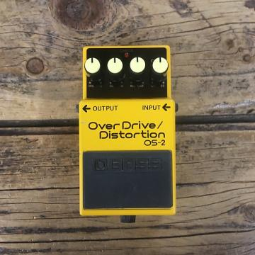 Custom Boss OS-2 Overdrive 2010 Black / Yellow