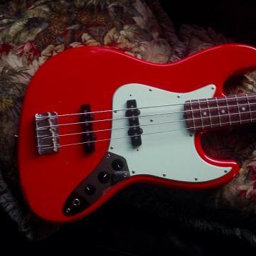 Custom Bacchus by Headway Jazz Bass 80's Fiesta Red