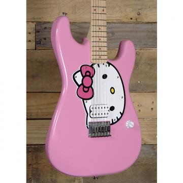 Custom Squier Hello Kitty Stratocaster Electric guitar