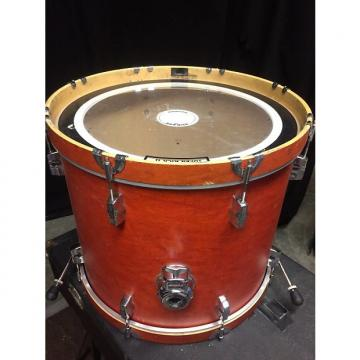 Custom Sonor Force 22x18 bass kick drum Mid 2000s Amber satin