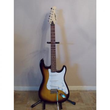 Custom Lotus Strat  Style Guitar Tobacco Sunburst